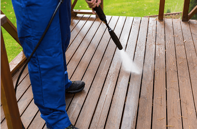 deck cleaning chino