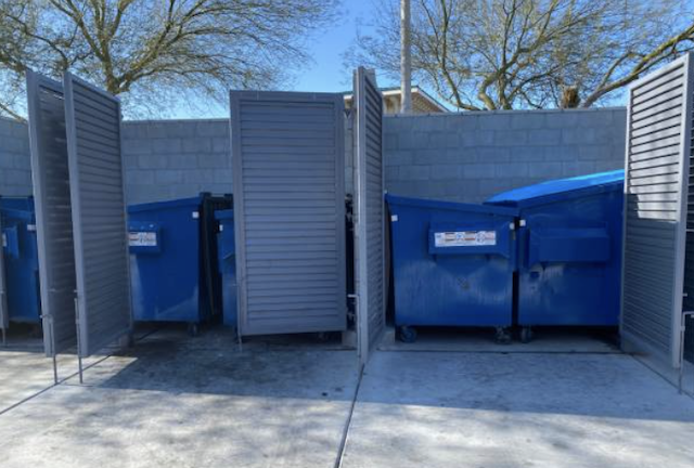 dumpster cleaning in chino