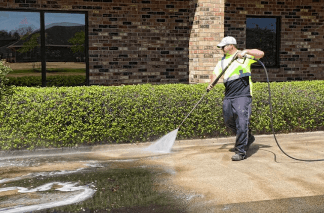 commercial concrete cleaning in chino